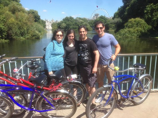 Fat Tire Bike Tours - London: Fat Tire Royal Parks Tour, London