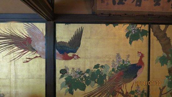 Sumiya Motenashi Cultural and Art Museum : 襖絵