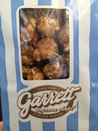 Garrett Popcorn Shops : Popcorn Garret pecan