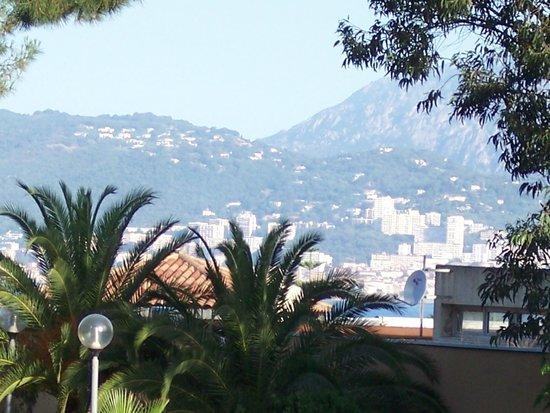 Hotel Club Marina Viva: Ajaccio un peu la mer et le beau jardin