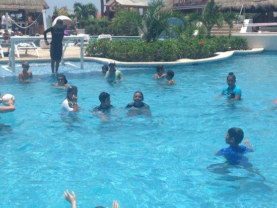 Hard Rock Hotel Riviera Maya: Disfrutando