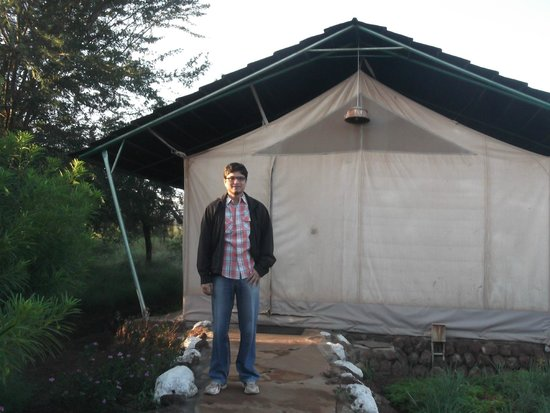 Sentrim Amboseli: In front of the Room(Tent)