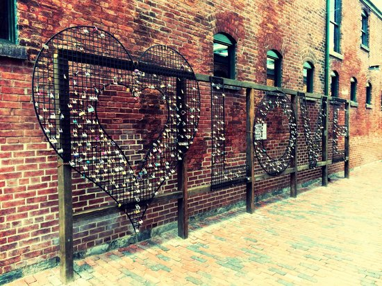 Love at the Distillery Historic District
