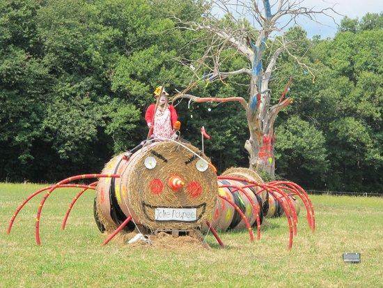 Domaine de la Rhonie : Vogelverschrikker festival