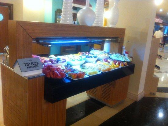 SENTIDO Perissia : Petit déjeuner : fruits