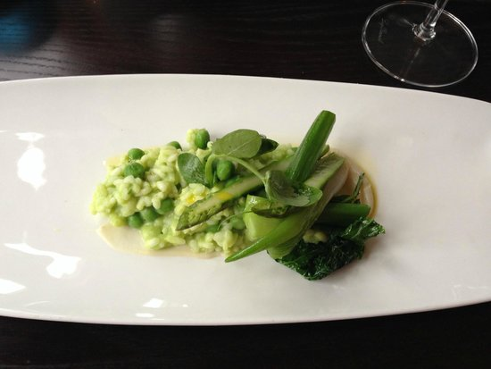 The Restaurant at Duisdale House Hotel: Green risotto