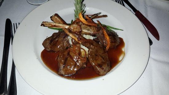 Irene's Cuisine : Lamb Chops Entree