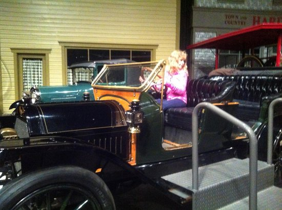 Reynolds-Alberta Museum: A car you are allowed to touch.