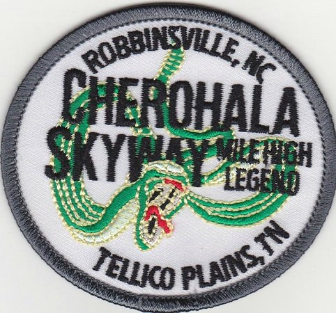 Cherohala Skyway Visitor Center: Cool patch