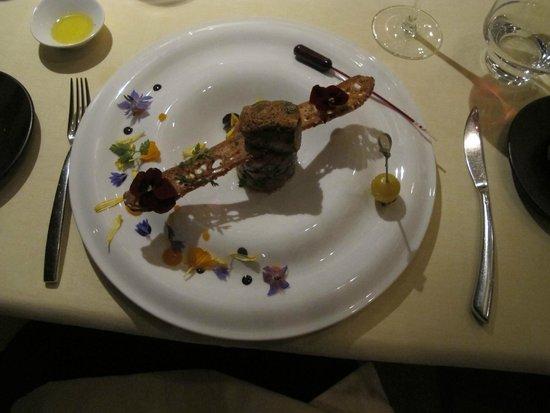 LeCrans Hotel & Spa : plat de maître