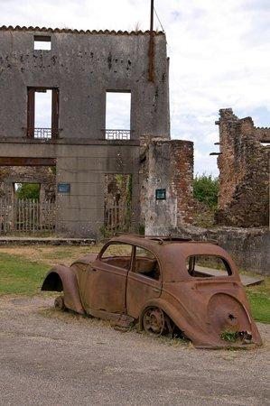 Vieille ville d'Oradour-sur-Glane : Oradour-sur-Glane