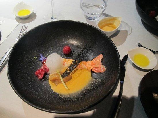 LeCrans Hotel & Spa: plat de maître