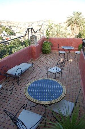 Riad Layalina Fes : roof terrace