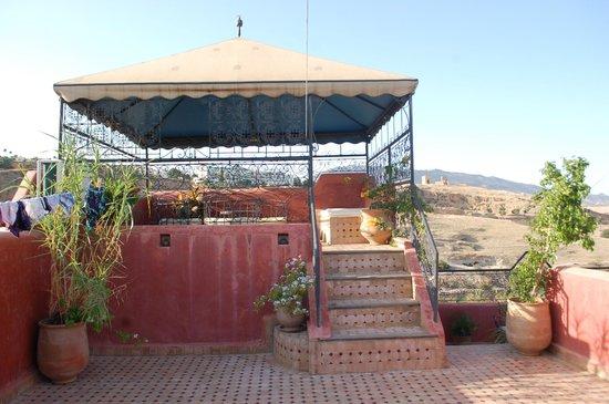 Riad Layalina Fes : rooftop terrace