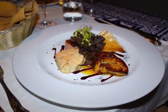 Le Marquis Restaurant: foie gras