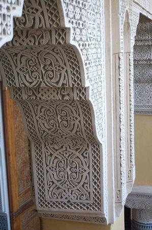Riad Layalina Fes : decorated arch