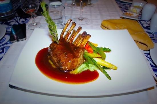 Le Marquis Restaurant: borrego