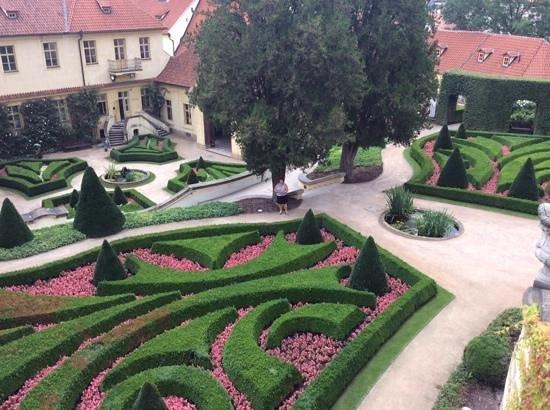 Castle District : spectacular gardens