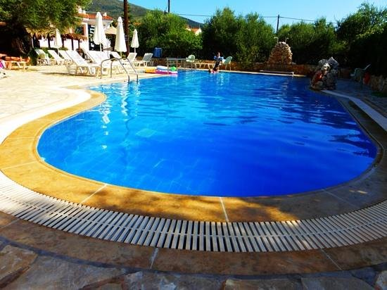 Kyprianos studios & apartments: pool...(as you might just be able to tell ;-))