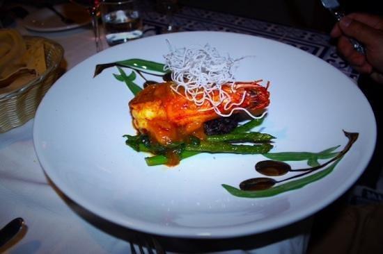 Le Marquis Restaurant: Gambas géante