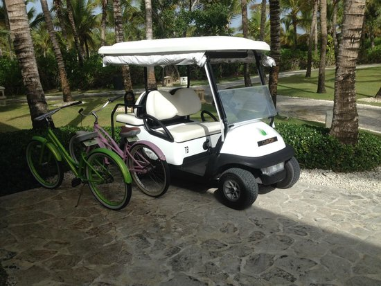 Tortuga Bay Hotel Puntacana Resort & Club: Transportation