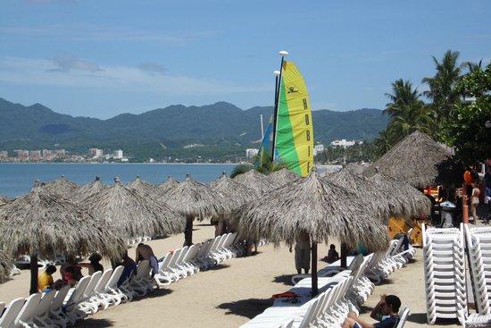 Royal Decameron Complex: Vista a playa del hotel