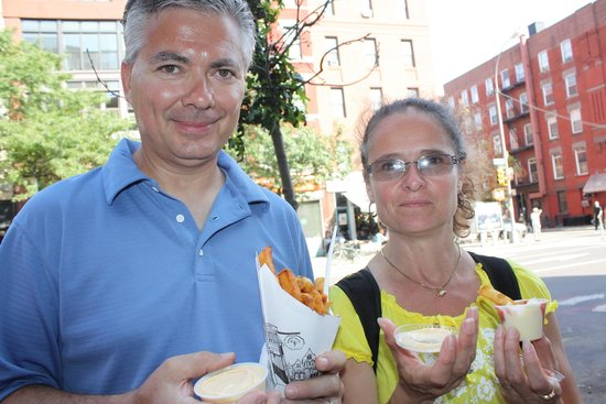 Food On Foot Tours : Rarely get fries this good