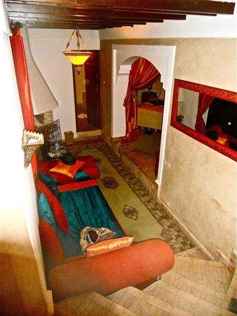Riad Zolah: Suite à l'étage près des terrasses