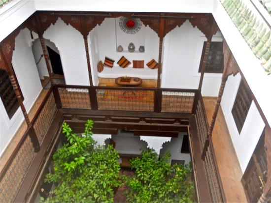 Riad Zolah: Niche de repos à l'étage