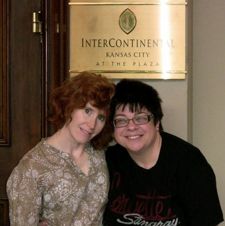 InterContinental Kansas City at the Plaza: The staff was completely accomodating, even serving as photographers...