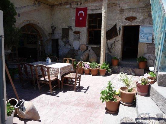 House of Memories: courtyard.