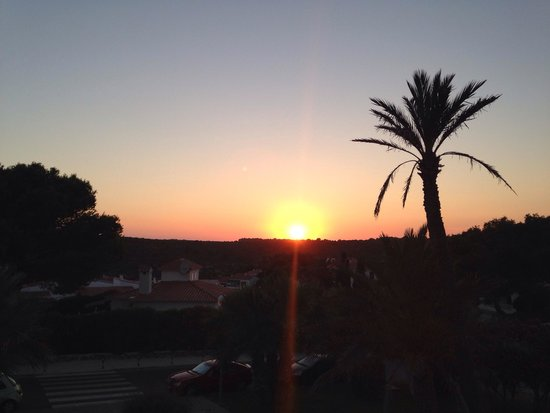 Grupotel Mar de Menorca: View from bar