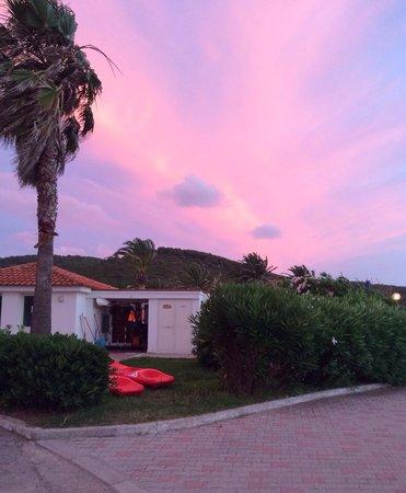Hotel Portoconte: Tramonto