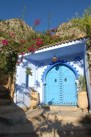 Dar Echchaouen: Main entrance gate