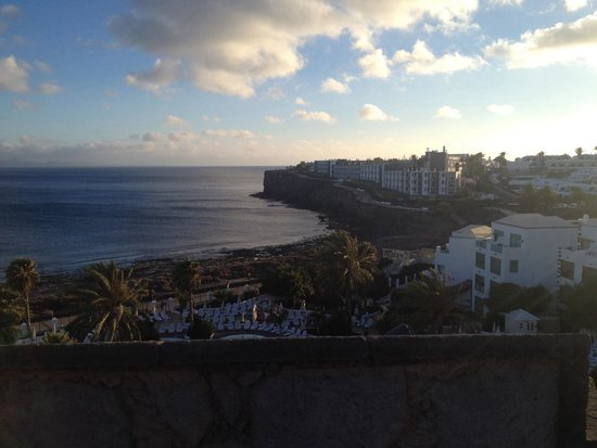 Gran Castillo Tagoro Family & Fun Playa Blanca: Nice view from top of the castle