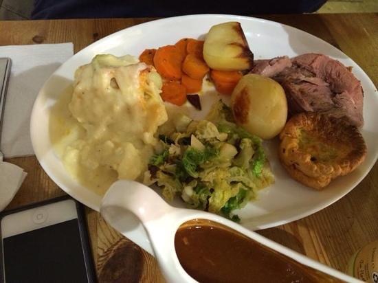 The Salt Pig: roast lamb, mmmmm