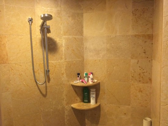 Dreams Riviera Cancun Resort & Spa : shower