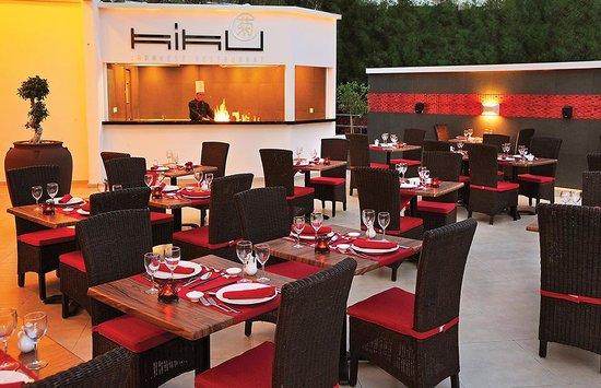 Elias Beach Hotel : Kiku Japanese Restaurant