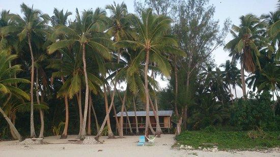 Amuri Sands, Aitutaki: The cabins