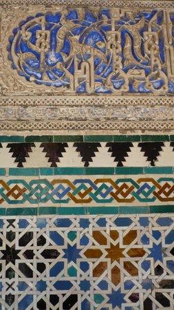 Alcázar: nice mosaiques