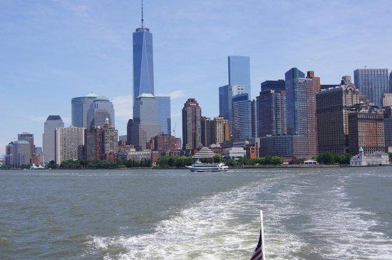 Hudson River Hotel: NY vers la statue de la liberté