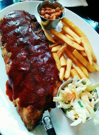Hard Rock Cafe Berlin: Hickory Baby Back-Ribs
