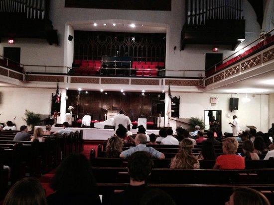 Mother African Methodist Episcopal Zion Church: Church
