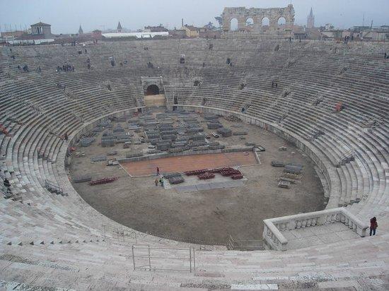 Arena di Verona: Vista interna