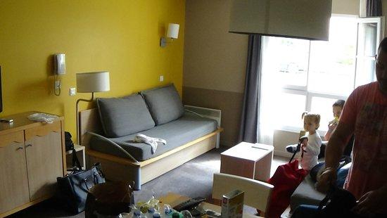 Adagio Aparthotel Val d'Europe: Salon