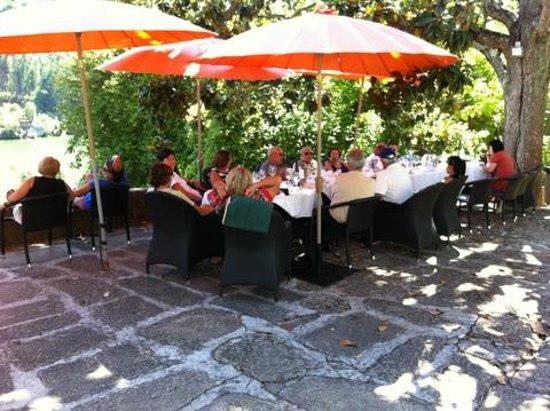 Quinta da Ermida: Refeição na esplanada