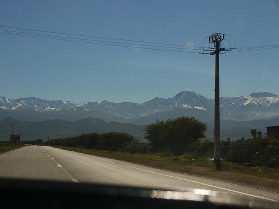 High Atlas Mountains : Hi Ho. To the mountains we go