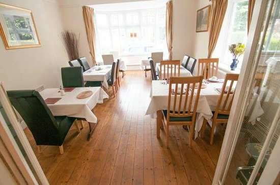 Chester House Guest House: Breakfast Room