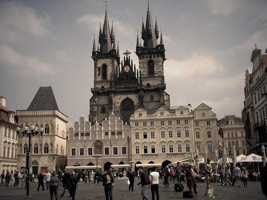 Prager Altstadt: Потрясающая Староместская площадь