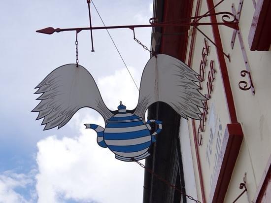 Angel Corner Tea Rooms: Sign